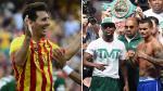 Lionel Messi alentó al 'Chino' Maidana antes de la pelea ante Floyd Mayweather