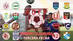 Torneo Clausura: día, hora, canal y árbitros de los partidos de la tercera fecha - Noticias de simon estadio heraclio tapia hora