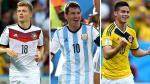 Ránking FIFA: Alemania sigue siendo líder, Argentina escolta y Colombia tercera