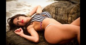 Katherine Fontenele es una espectacular modelo brasileña de 23 años. (Internet)