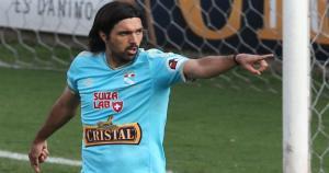Jorge Cazulo tuvo la cinta de capitán en el último partido de Sporting Cristal. (USI/ John Virhuez)