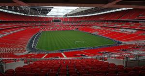 Estadio de Wembley-Sede Londres, Inglaterra. Tiene capacidad para 90 mil espectadores. (Internet)