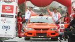 Caminos del Inca 2014: Raúl Orlandini fue el más rápido de la primera etapa - Noticias de ronmel palomino