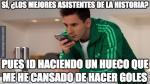 Messi lleva más asistencias en lo que va de la Liga. (Memedeportes)