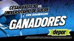 César Vallejo vs. Universitario de Sucre: estos son los ganadores de las 25 entradas dobles - Noticias de miguel garavito