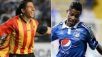 Johan Fano y Andy Polo marcaron en duelo de peruanos en Colombia