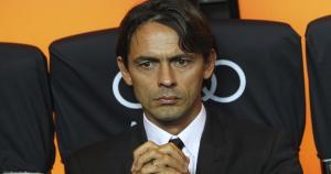 Filippo Inzaghi llegó esta temporada a la dirección técnica del Milan tras dirigir en las canteras 'rossoneras'. (Getty Images))