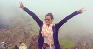 Milett Figueroa sorprendió a sus fans tras subir fotos en Machu Picchu. (Instagram)