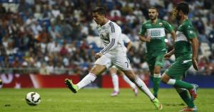 Cristiano Ronaldo llegó a los 21 'hat trick' en la Liga BBVA y está a solo uno de Telmo Zarra y Alfredo Di Stefano. (Agencias)
