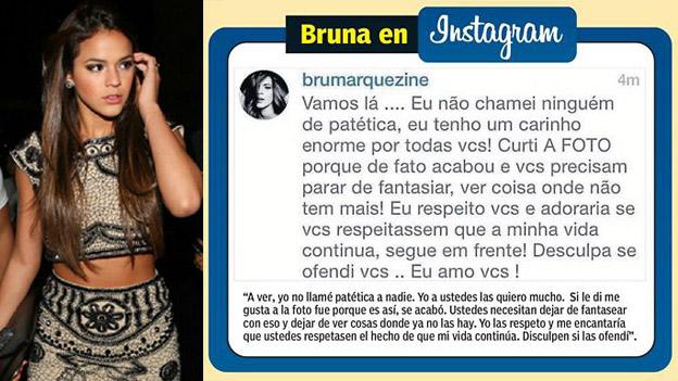 Neymar Bruna Marquezine Discutio Con Sus Seguidores Por El Crack Brasileno Depor Com