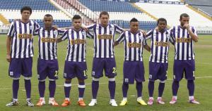Así lucirán los jugadores de Alianza Lima con la camiseta blanquimorada. (Leonardo Fernández)