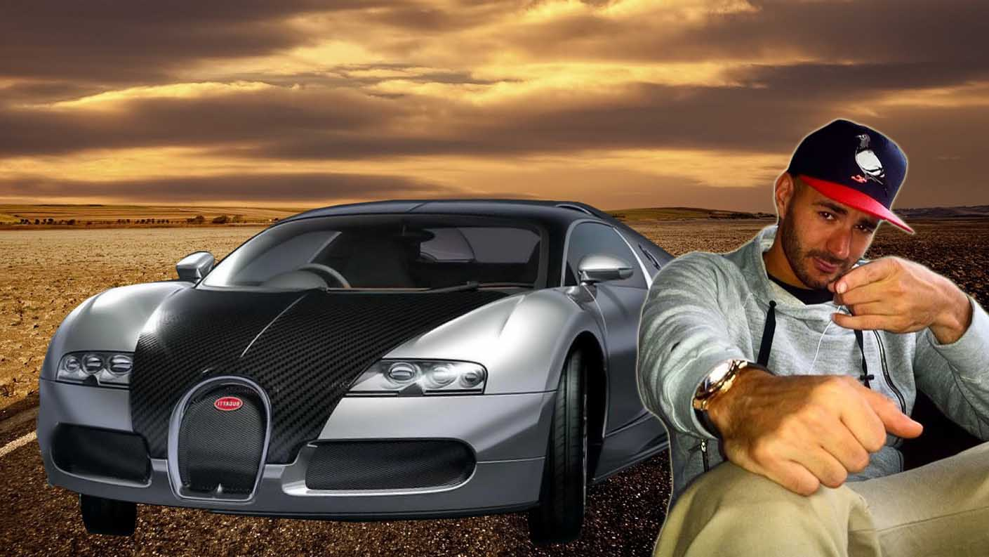 karim benzema luci su bugatti veyron un auto de 2 5 millones de d lares. Black Bedroom Furniture Sets. Home Design Ideas