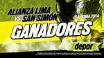 Alianza Lima vs. San Simón: estos son los ganadores de las 5 entradas dobles - Noticias de cesar arbulu