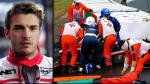 Fórmula 1: piloto Jules Bianchi en estado crítico tras grave accidente (VIDEO) - Noticias de adrian sutil