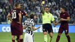 Juventus vs. Roma: Stephan Lichtsteiner derribó a Francesco Totti con llave de lucha libre (VIDEO)