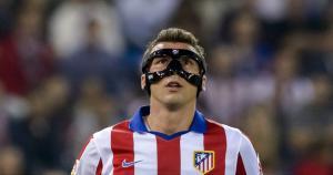 Mario Mandzukic fue operado de una fractura en el tabique nasal el jueves pasado. (AFP)
