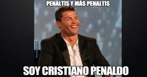 Cristiano Ronaldo, Ter Stegen y otros personajes fueron vacilados por los memes.