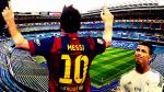 Lionel Messi: así sería su homenaje frente a Cristiano Ronaldo en el Bernabéu - Noticias de javier tebas