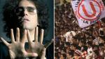Universitario: Andrés Calamaro retuiteó foto de banderola con la letra de una de sus canciones - Noticias de andrés calamaro