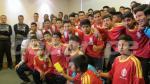 Selección Peruana recibió la visita del equipo Incas del Sur (FOTOS) - Noticias de atv sur