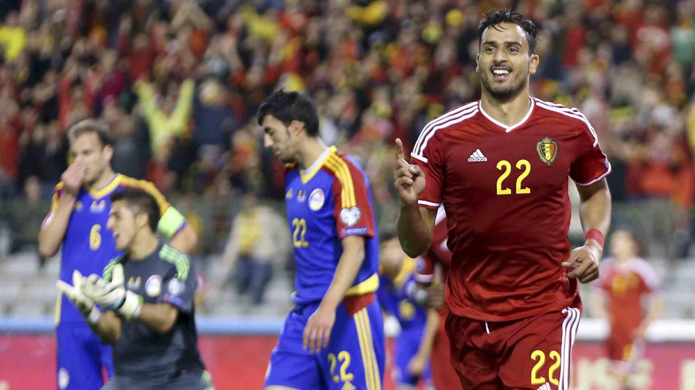 11729fc35db5c Bélgica aplastó 6-0 a Andorra por las Eliminatorias a la Eurocopa ...