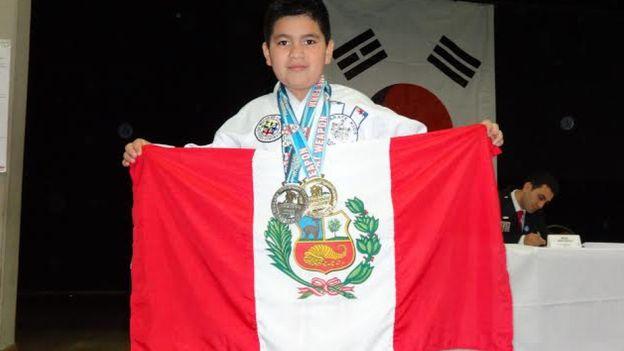 Conoce al niño peruano de 9 años campeón de Taekwondo