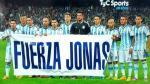 Jonas Gutiérrez: Argentina le mandó fuerzas para que supere el cáncer