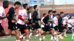Selección Peruana entrenó en la Videna sin el lesionado Carlos Zambrano (FOTOS)