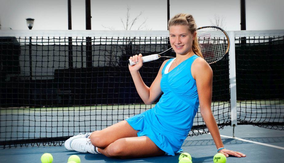 Circuito Wta : Tenis: eugenie bouchard es la nueva reina del circuito wta fotos