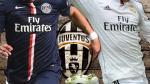 Juventus entre dos delanteros del PSG y Real Madrid (VIDEOS)