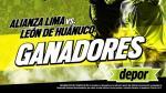 Alianza Lima vs. León de Huánuco: estos son los ganadores de las entradas dobles - Noticias de alvaro solano