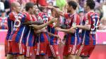 Bayern Munich 6-0 Werder Bremen: Xabi Alonso marcó un golazo de tiro libre a lo Ronaldinho (VIDEO)