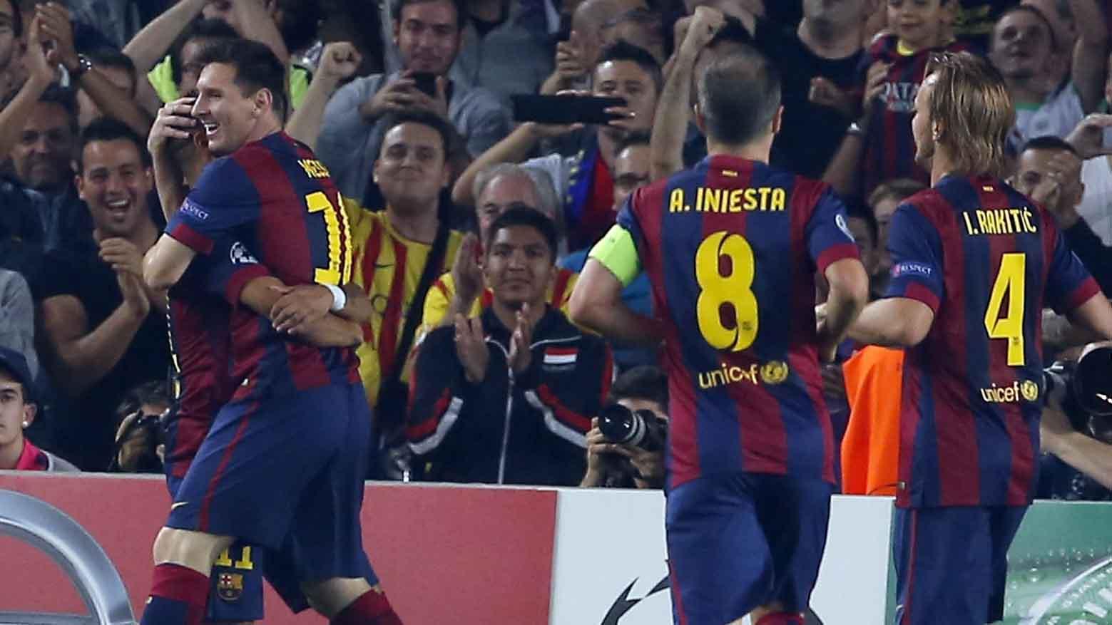 Barcelona venció 3-1 al Ajax y se acerca a octavos de final