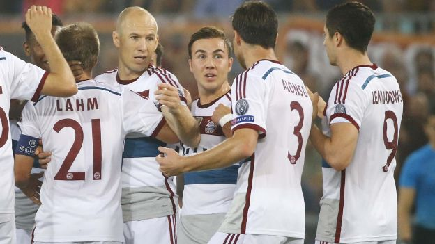 Bayern Munich le dio paliza inolvidable a la Roma en la Champions