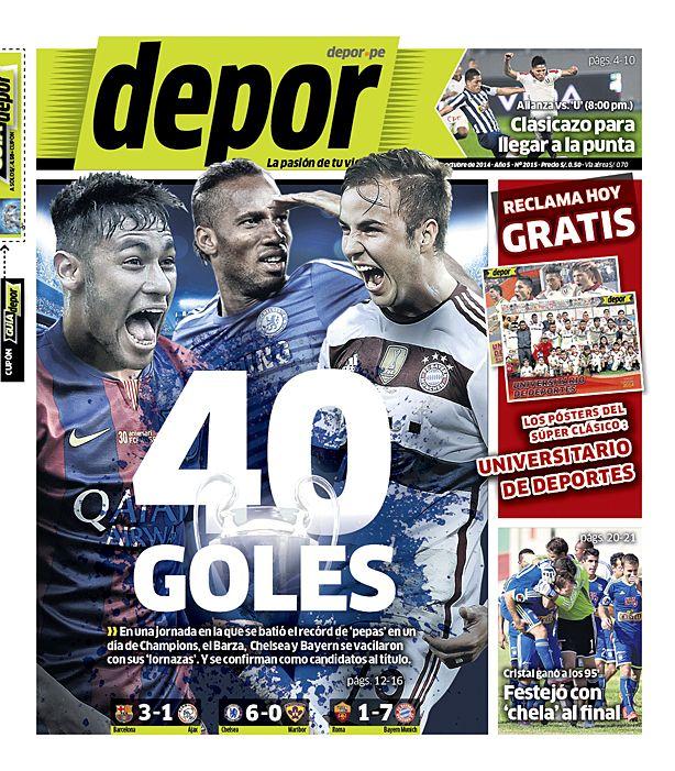 40 goles