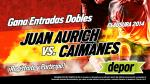 Juan Aurich vs. Los Caimanes: Depor te regala entradas dobles para este partido