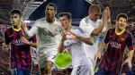 Real Madrid vs. Barcelona: ¿cuántos goles han marcado esta temporada sus máximas estrellas?