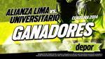 Alianza Lima vs. Universitario: estos son los ganadores de las entradas dobles