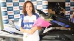 Paloma Noceda también tira su 'caña' en las pistas de Lima (VIDEO) - Noticias de peru campeón