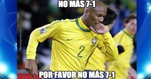 Maicon se acuerda del 7-1 de Brasil a Alemania. (Memedeportes) / RC