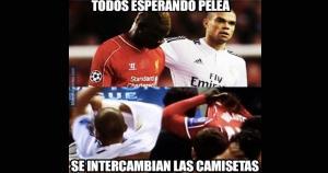 Pepe y Mario Balotelli son jugadores conflictivos. Sin embargo, hoy intercambiaron camisetas, no insultos. (Memedeportes / JS)