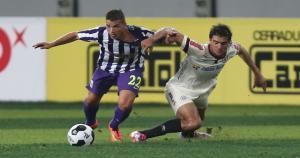 Rafael Guarderas pisó el palito y se fue expulsado. (Eddy Lozano)