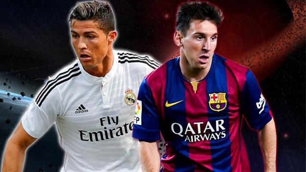 Cristiano vs. Messi en vivo por el Clásico
