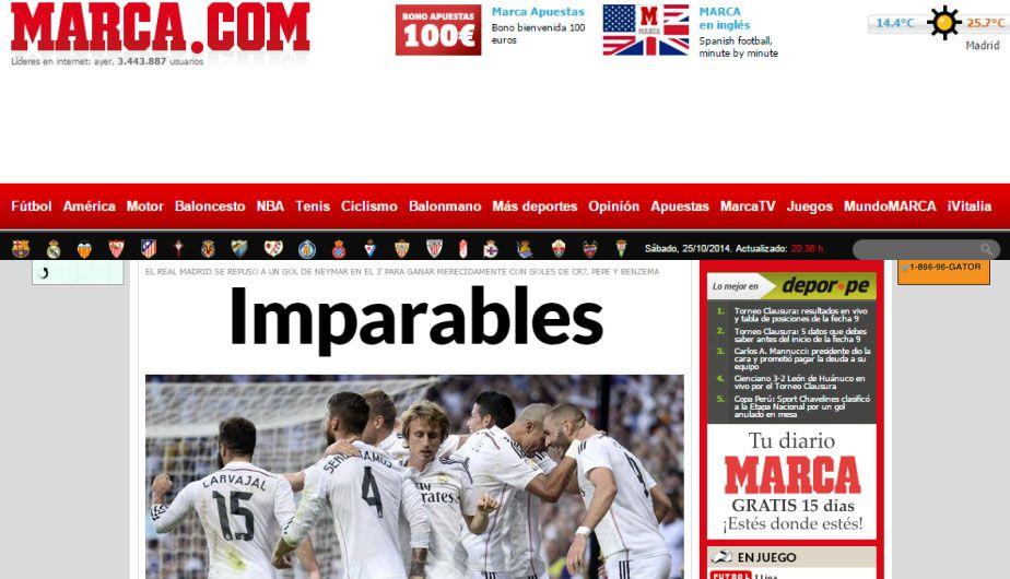 La portada de Marca de España. (RC)
