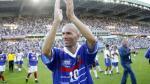 Zinedine Zidane marcó dos goles en la final de Francia 1998, donde los galos golearon 3-0 a Brasil. (Reuters)