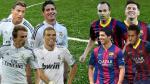 Real Madrid vs. Barcelona: alineaciones confirmadas del Clásico español - Noticias de real madrid