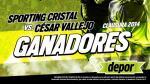 Sporting Cristal vs. César Vallejo: estos son los ganadores de las entradas dobles - Noticias de rosa vega santa cruz
