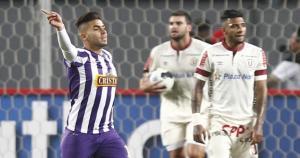 Víctor Cedrón anotó el único gol del clásico. (USI)