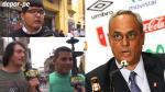 """Manuel Burga: los peruanos pidieron """"que se largue"""" de la FPF"""