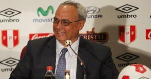 Manuel Burga es presidente de la FPF desde 2002. (USI/Mauricio Motta)